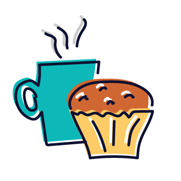Cafes & Bakeries Tag Icon