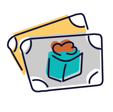 Gift Certificate Participant Tag Icon