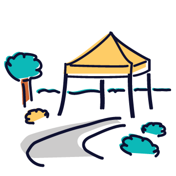 Outdoor Event Tag Icon